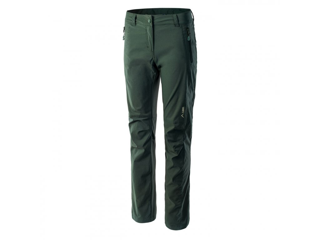elbrus gaude wos damske outdoorove kalhoty zelene3