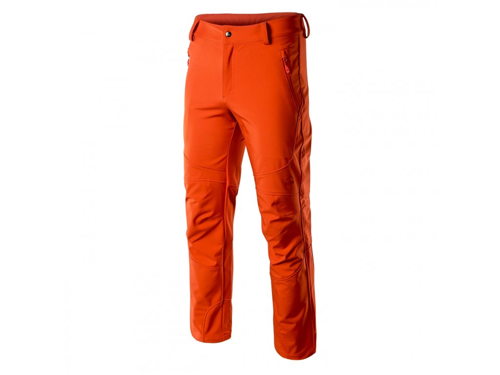 elbrus leland panske outdoorove kalhoty cervene2