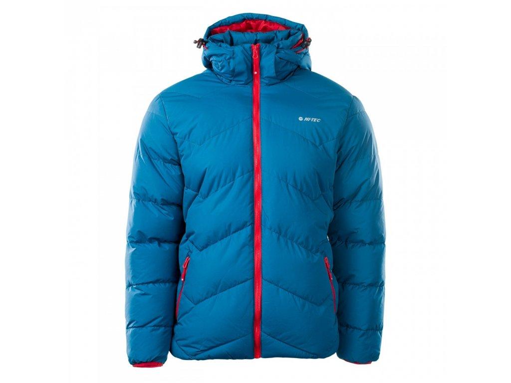 hi tec socho bunda panska prosivana zimni s kapuci fashion modra