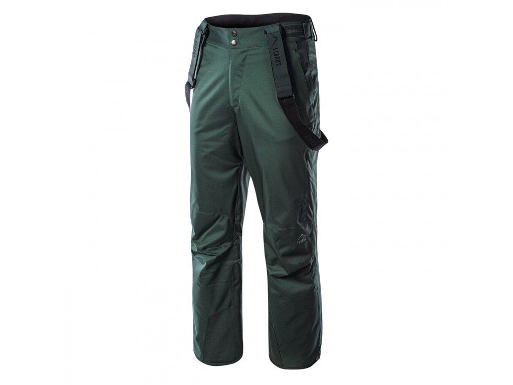 elbrus olaf panske zimni kalhoty zelene2