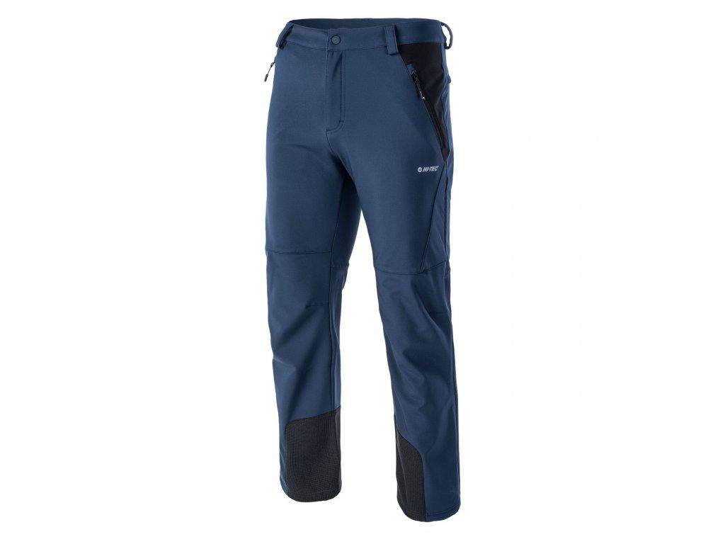 hi tec astoni panske softshellove kalhoty modre2