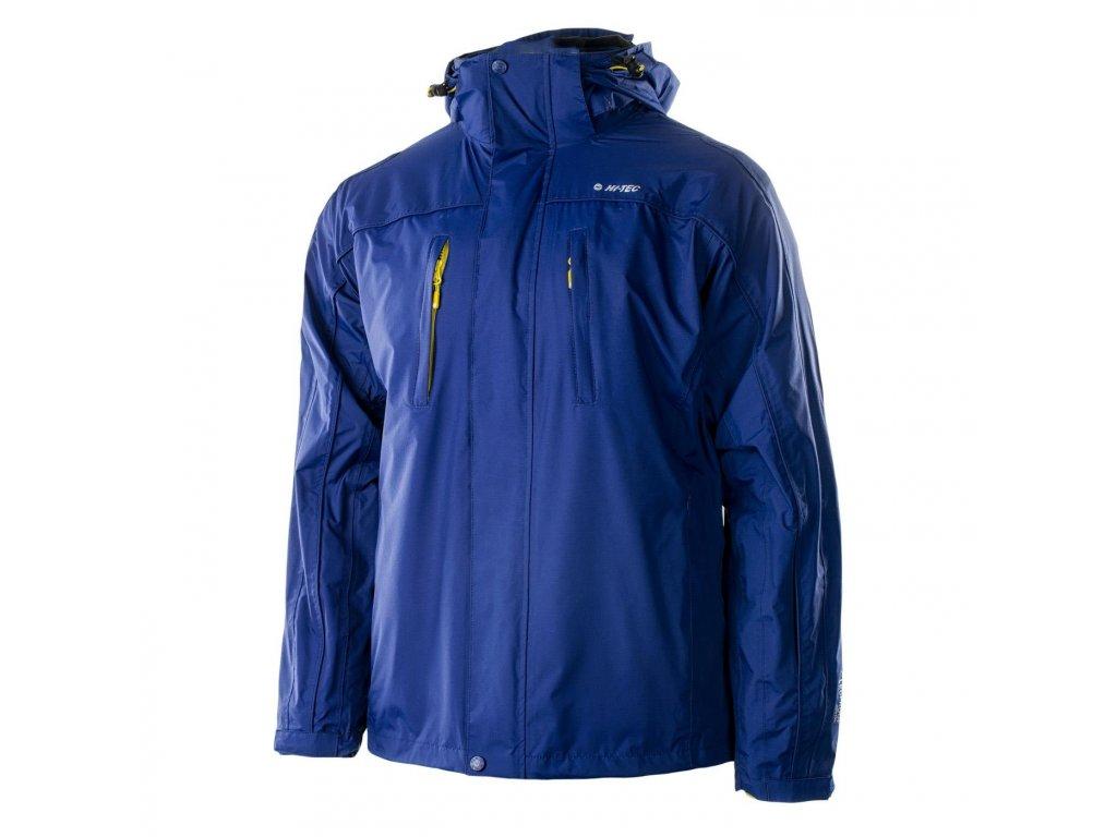 hi tec titan 3v1 bunda panska zimni outdoorova lyzarska modra