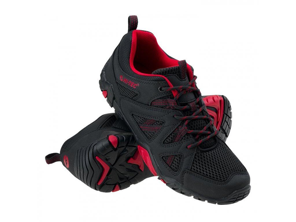 hi tec rango panske sportovni boty cerno cervene obe