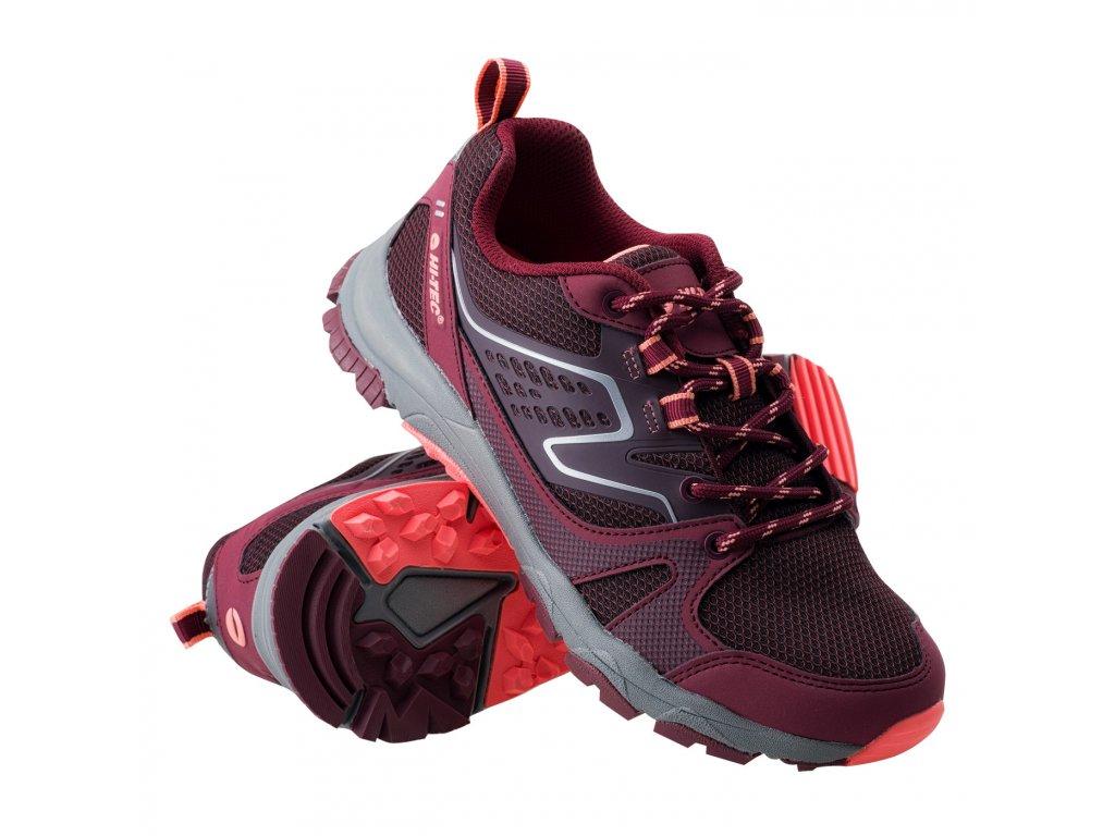 hi tec gozin wos damske trekove boty cervene (5)