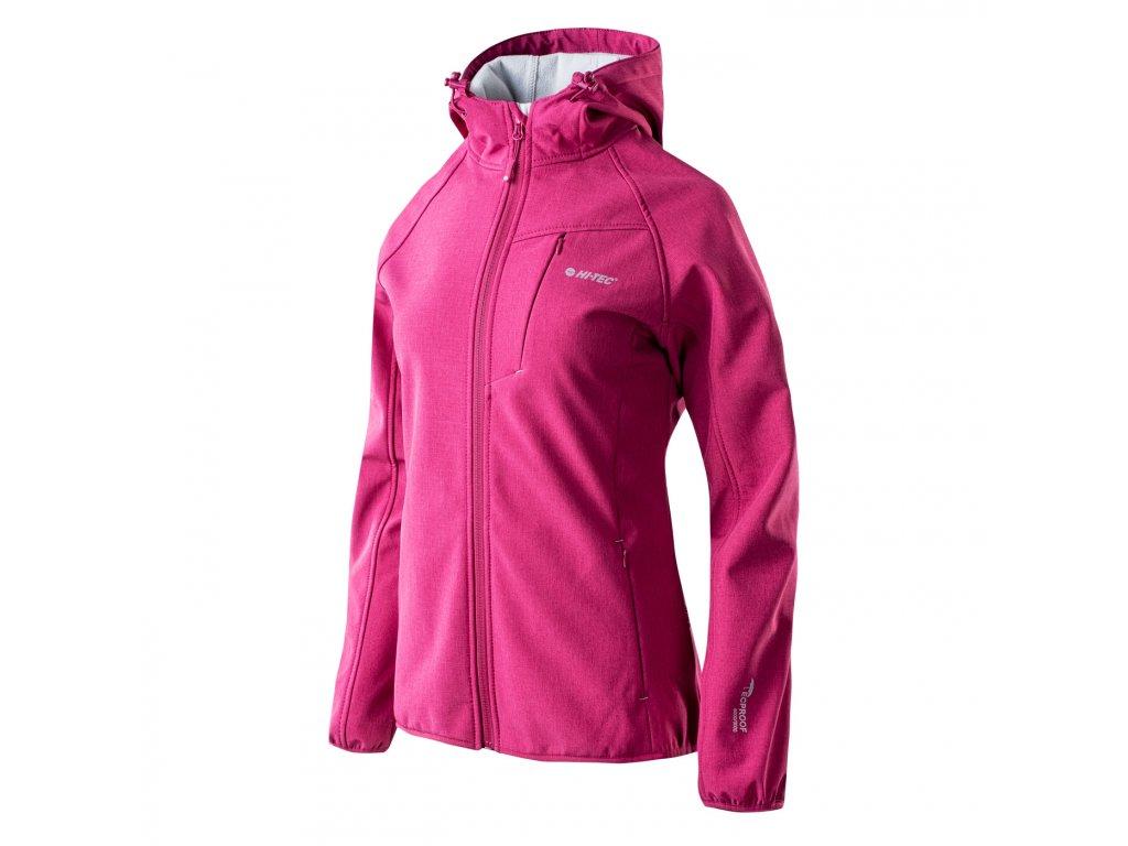 hi tec lady sami damska softshellova bunda fialova outdoor (3)