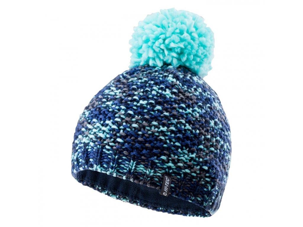 hi tec damska zimni cepice modra 2
