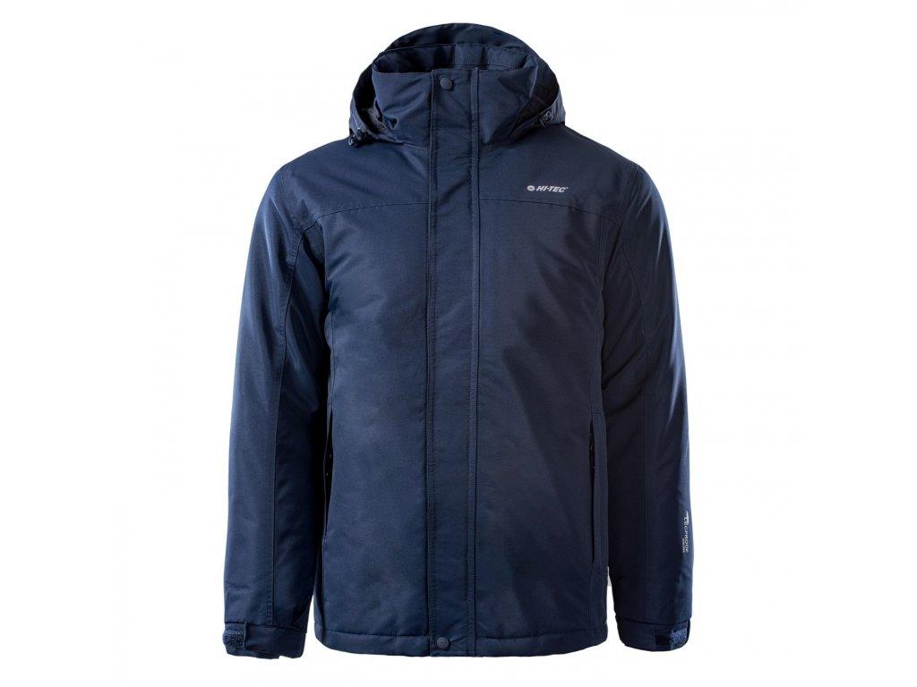 hi tec chester panska zimni bunda modra