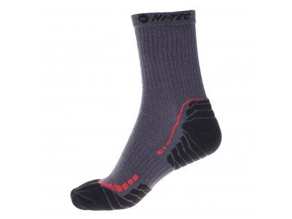 hi tec ranas panske vysoke ponozky tmave sede