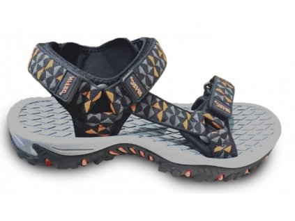 hi tec cercis sandaly panske sandale textilni pasky