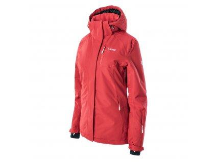 hi tec lady gigi damska zimni bunda cervena2