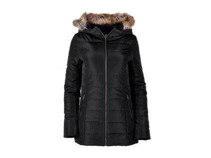 hi tec lady eva kabat damsky zimni limec s koziskem s kapuci cerny