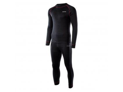 HI-TEC Sorin Set - pánské termoprádlo (komplet tričko + kalhoty)