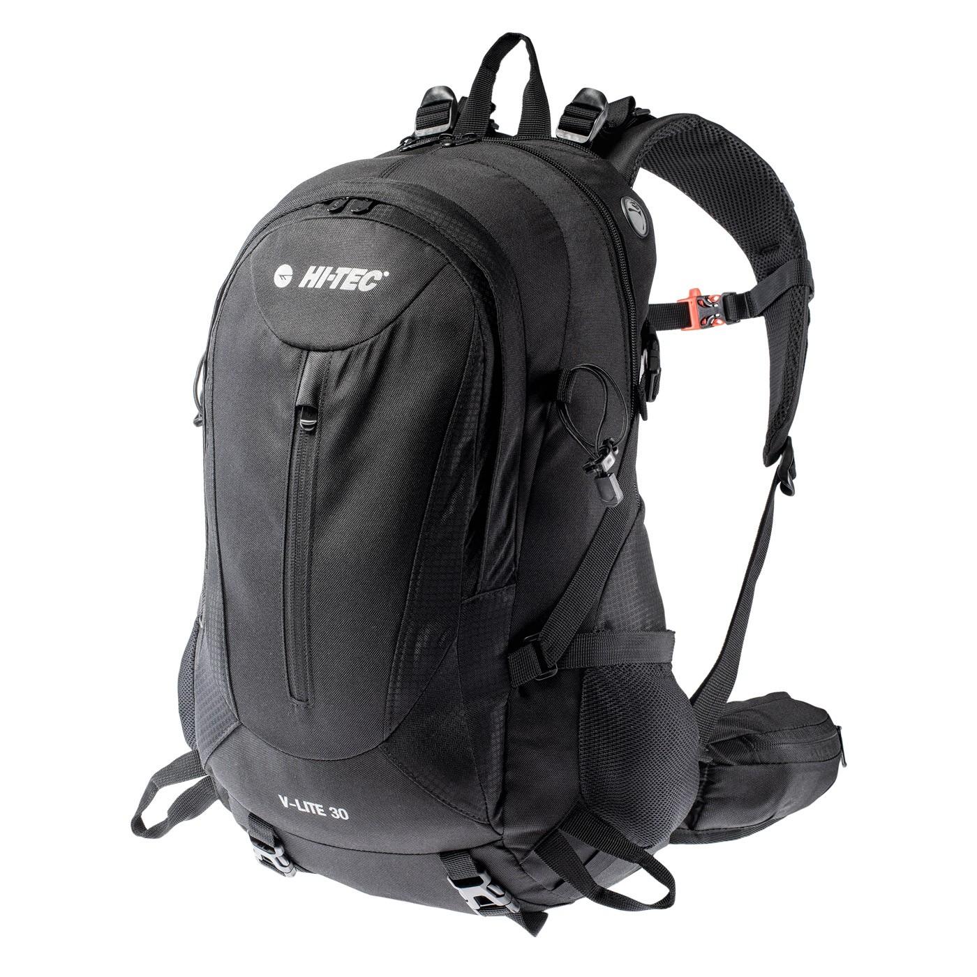 HI-TEC V-LITE 30 - turistický batoh Barva: Černá