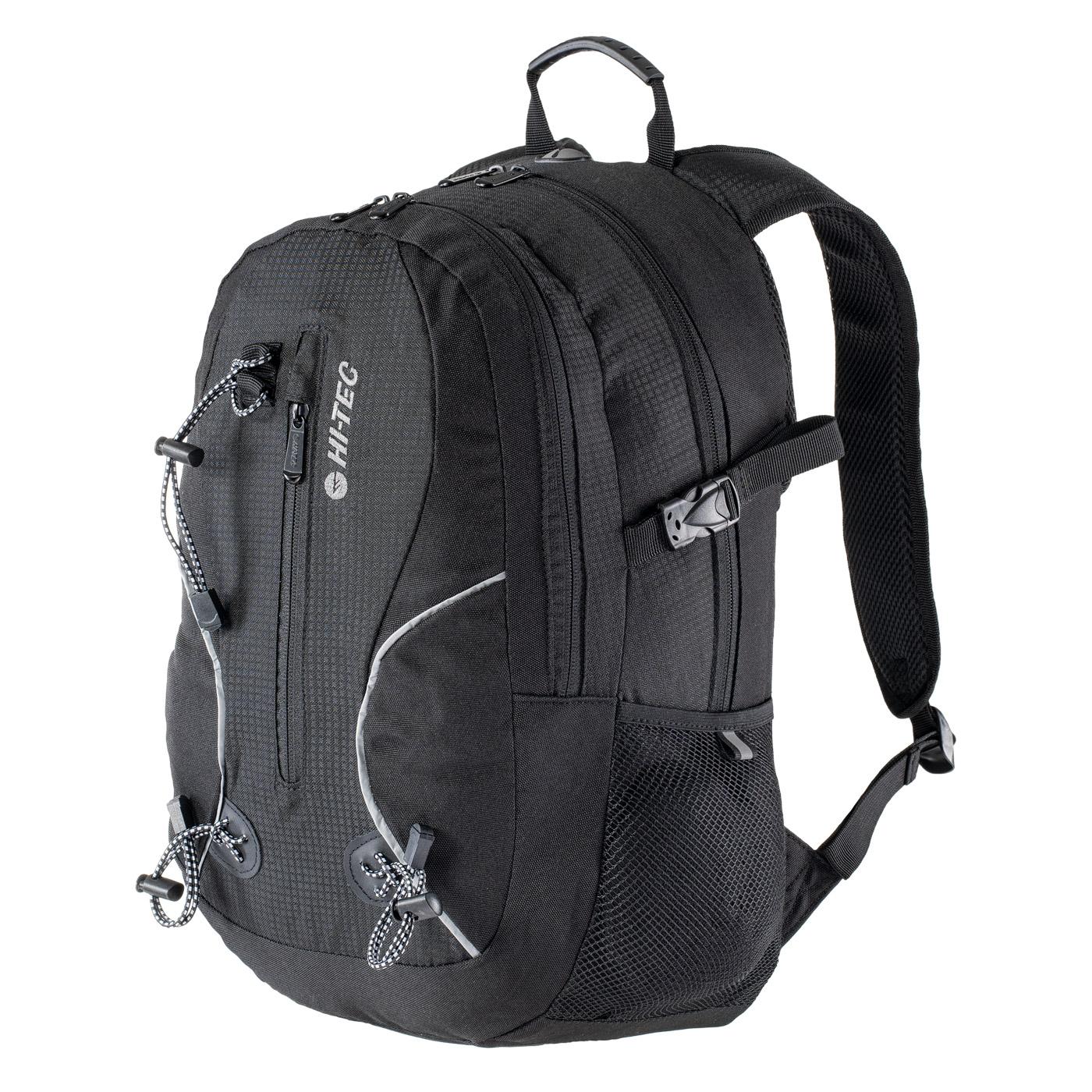 HI-TEC Mandor 20L - sportovní/školní batoh Barva: Černá