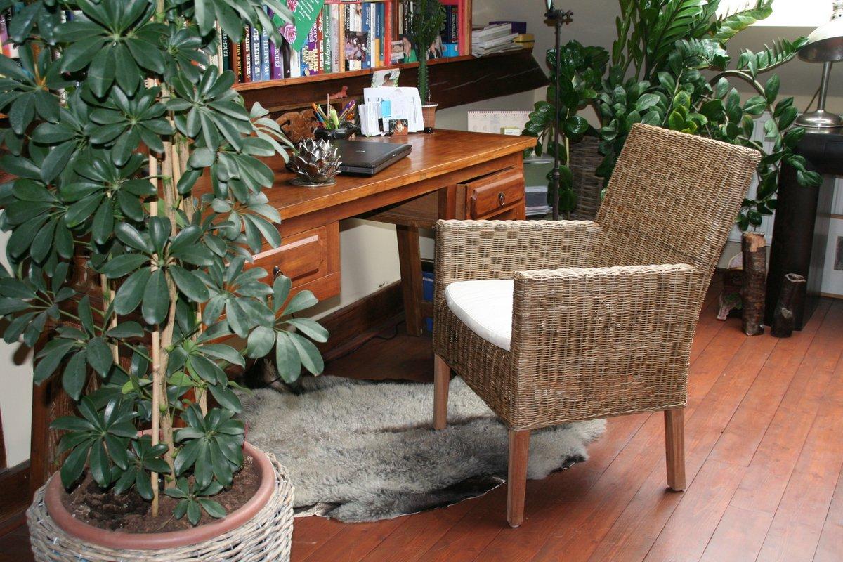 Ratanový nábytek je ozdobou moderního interiéru