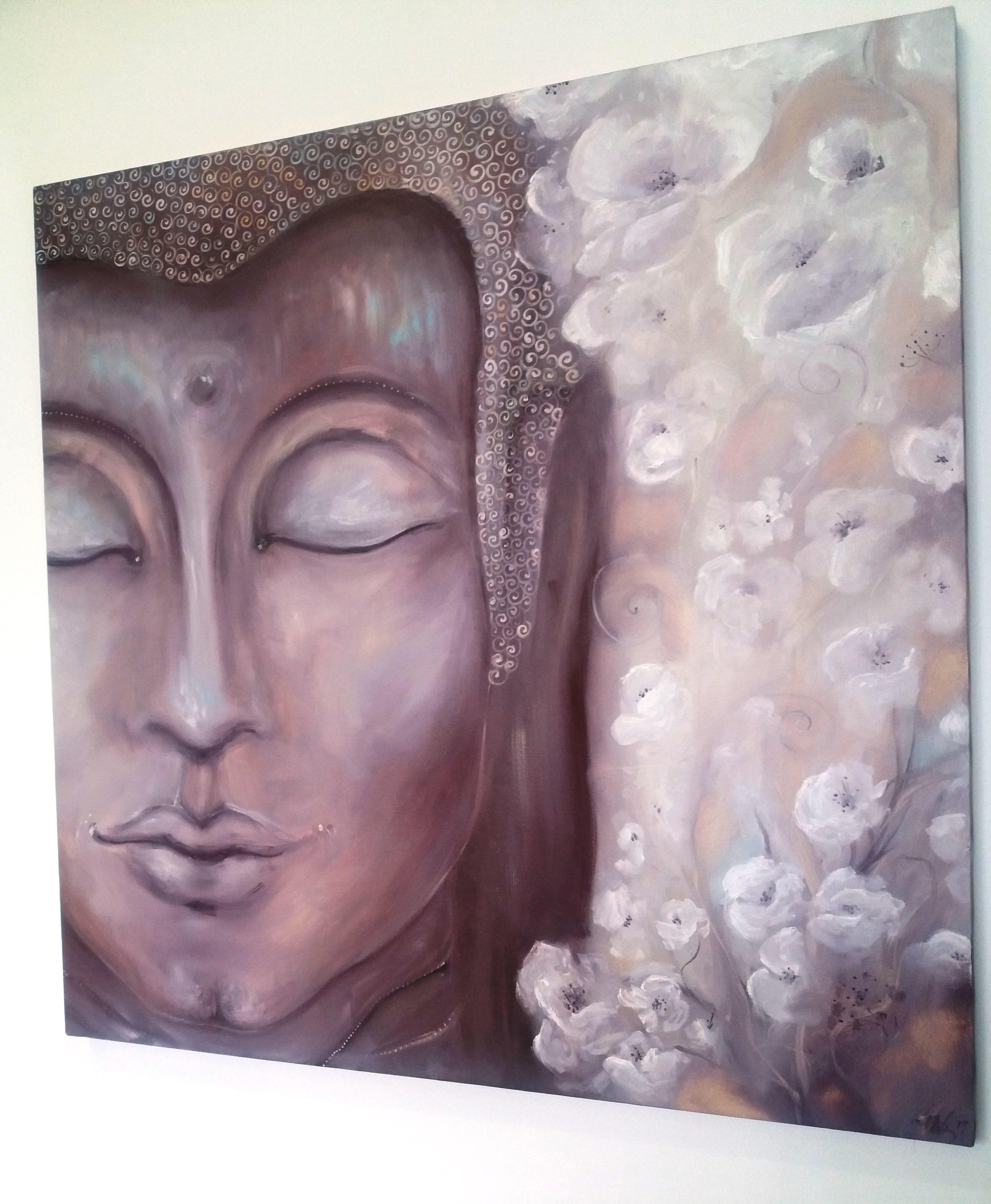 Olejomalba Budha 15000,-Kč