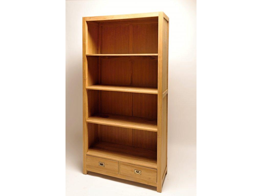 teaková knihovna 9407
