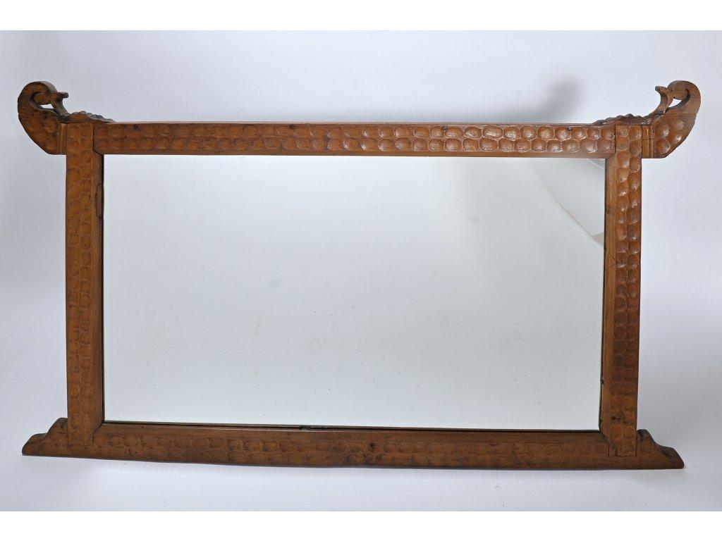 Dřevěné zrcadlo Antik rám
