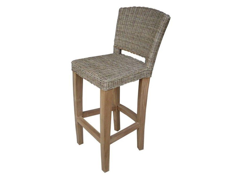 Barová židle DIMA slimit grey / bez polstru
