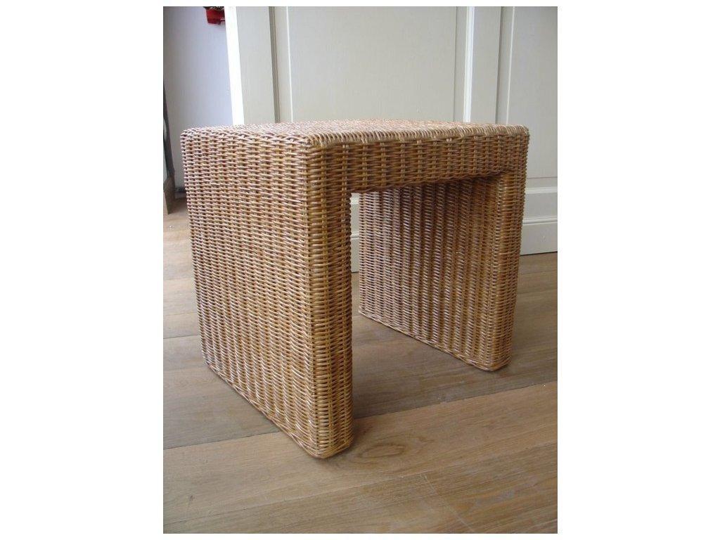 Ratanový stůl  BRUNO/PANDORA 40x46 lh