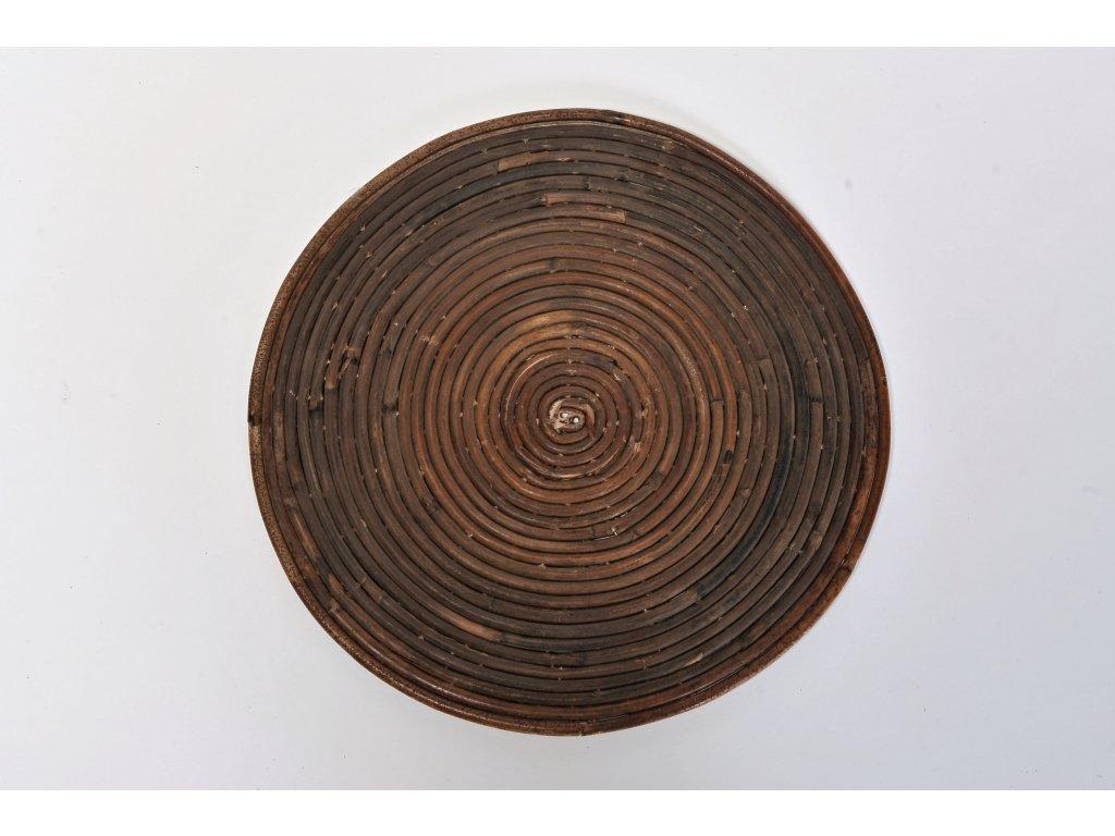 Ratanové podložky točené sarang antik - kulaté