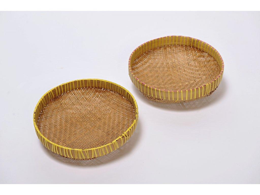 Ratanová miska Bamboo Pameresan 29 cm / výška 9 cm