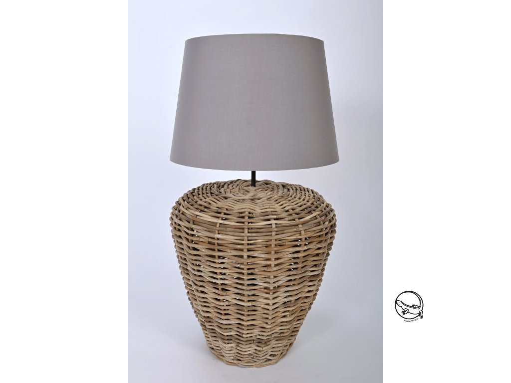 Ratanová podstava lampy NITA grey 452545cm (2)