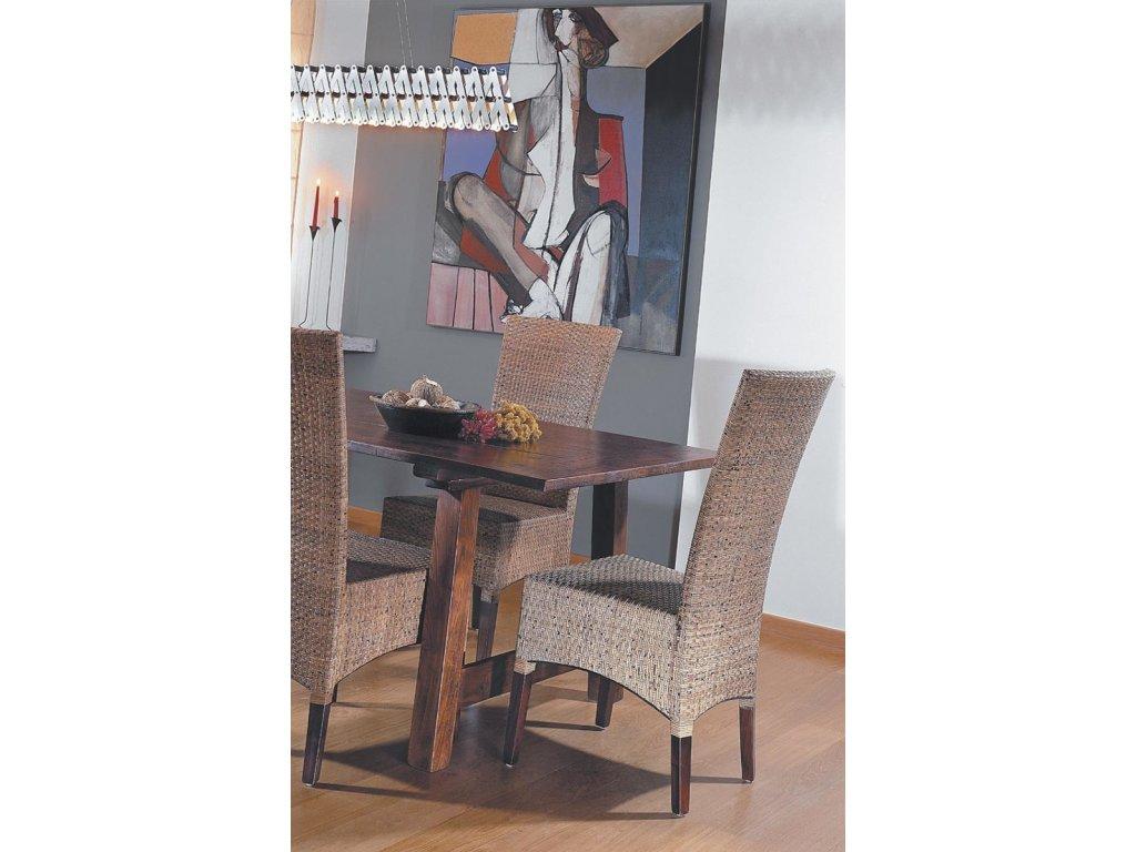 Jídelní židle LASIO nízká coklat
