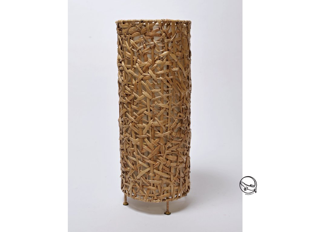 Stínidlo VÁLEC - dekorace malé hyacint nat.