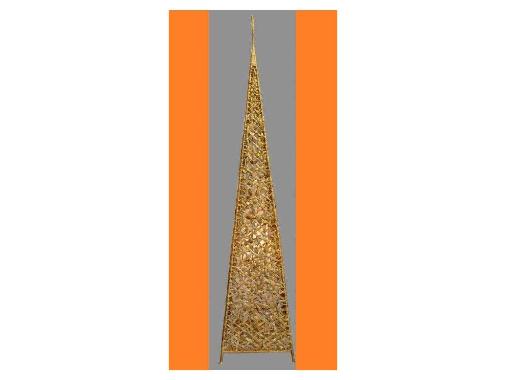 Stínidlo velké pyramida hyacint natur