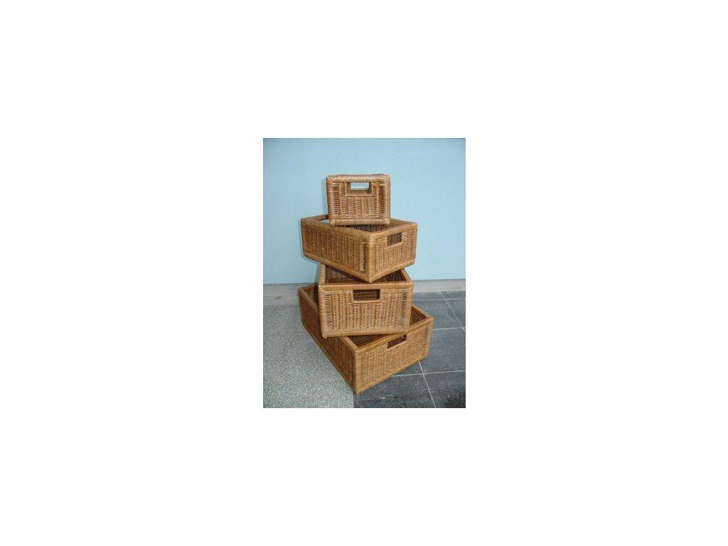 Zásuvka/4-2 38x26x16 dh