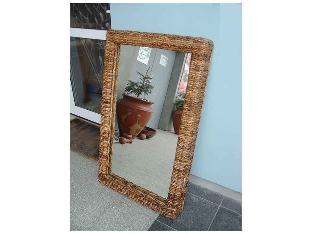 Zrcadlo 100x60cm - BANÁN - hluboký rám