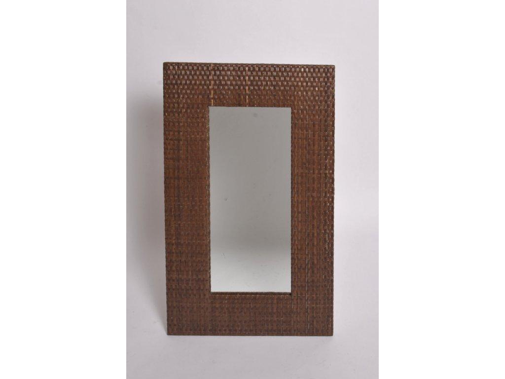 Zrcadlo LASIO coklat 100x60