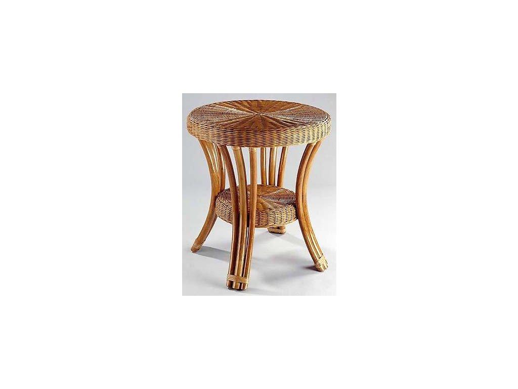 Ratanový stůl BLANKA lh