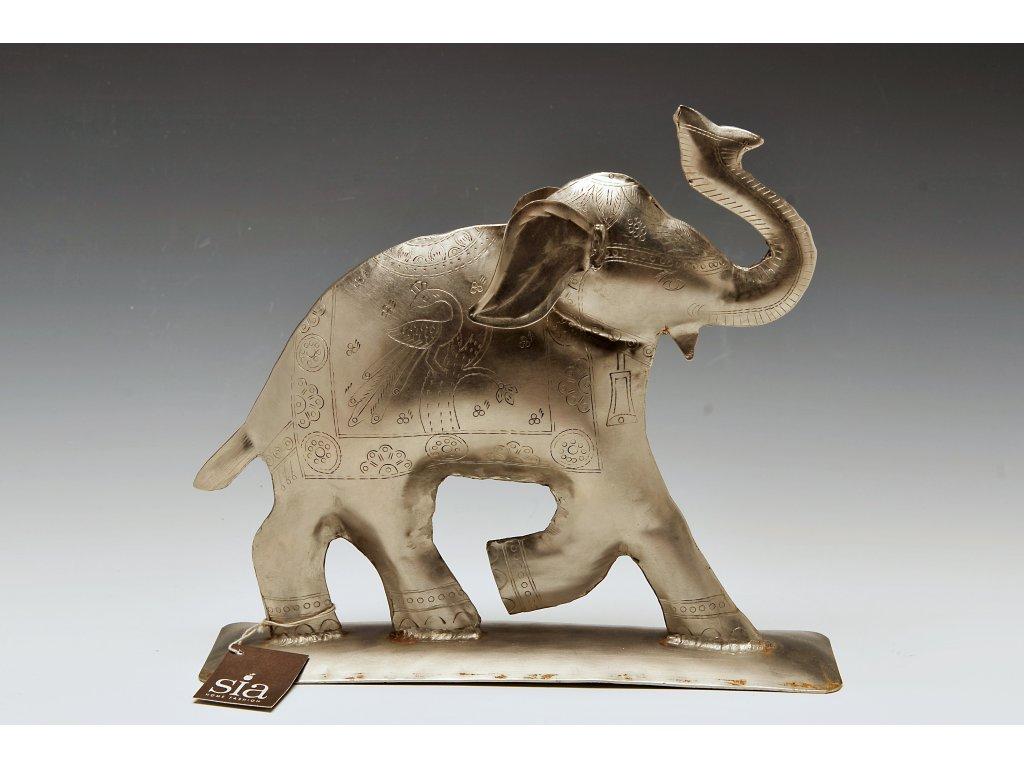 Socha - šťastný slon