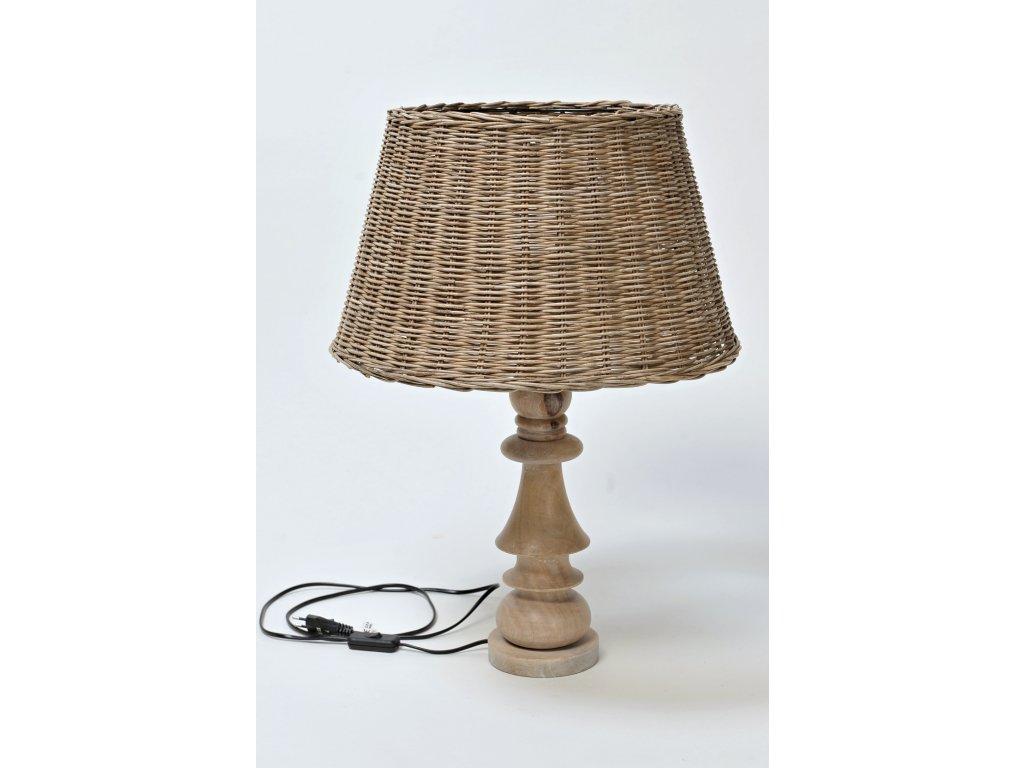 Designová lampa MALAYA vč. stínítka