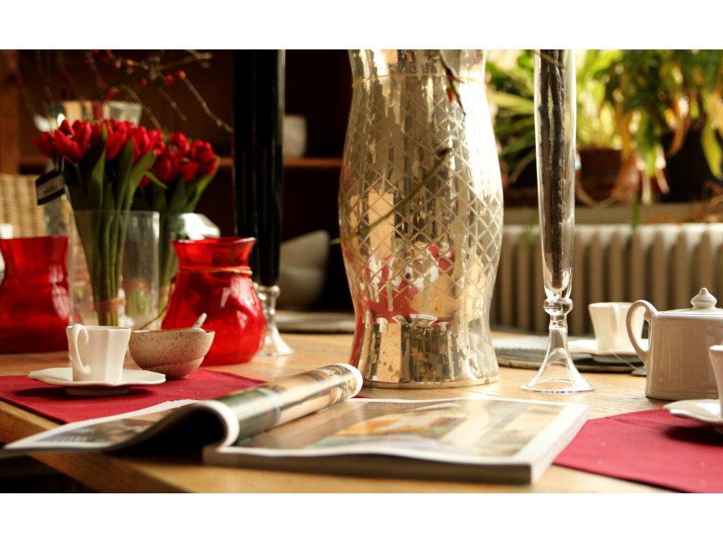 Váza FLOPY - červená