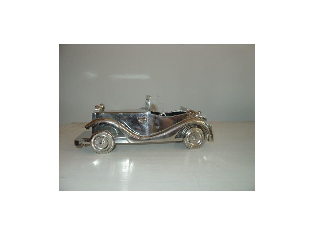 Dekorace auto stříbrné SIA