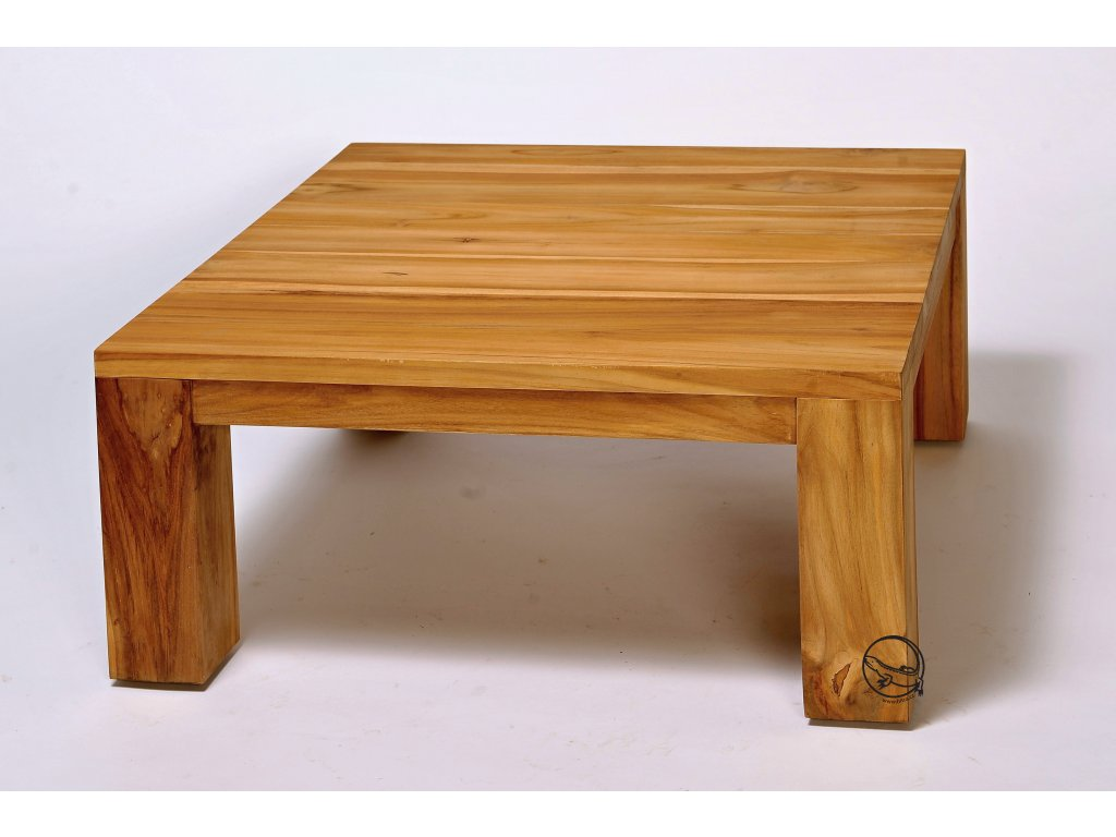 Teakový stůl 80x80cm
