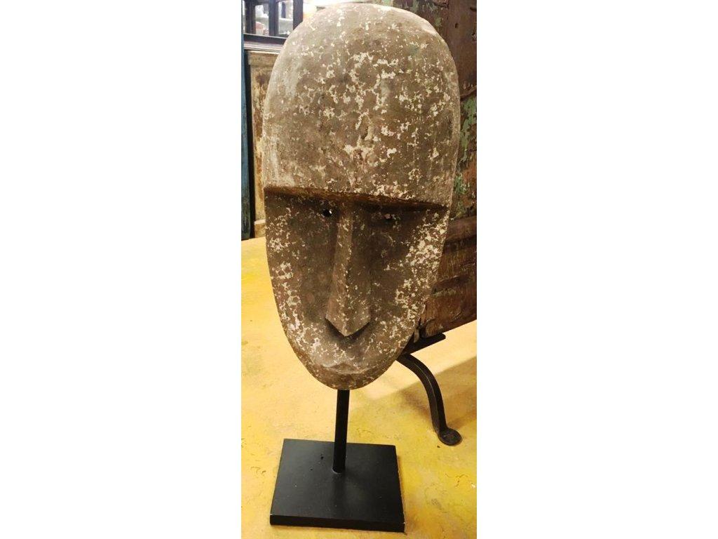 fládrovaná maska střední