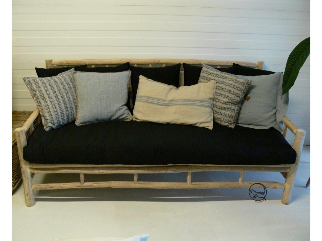 Teakové sofa BALI