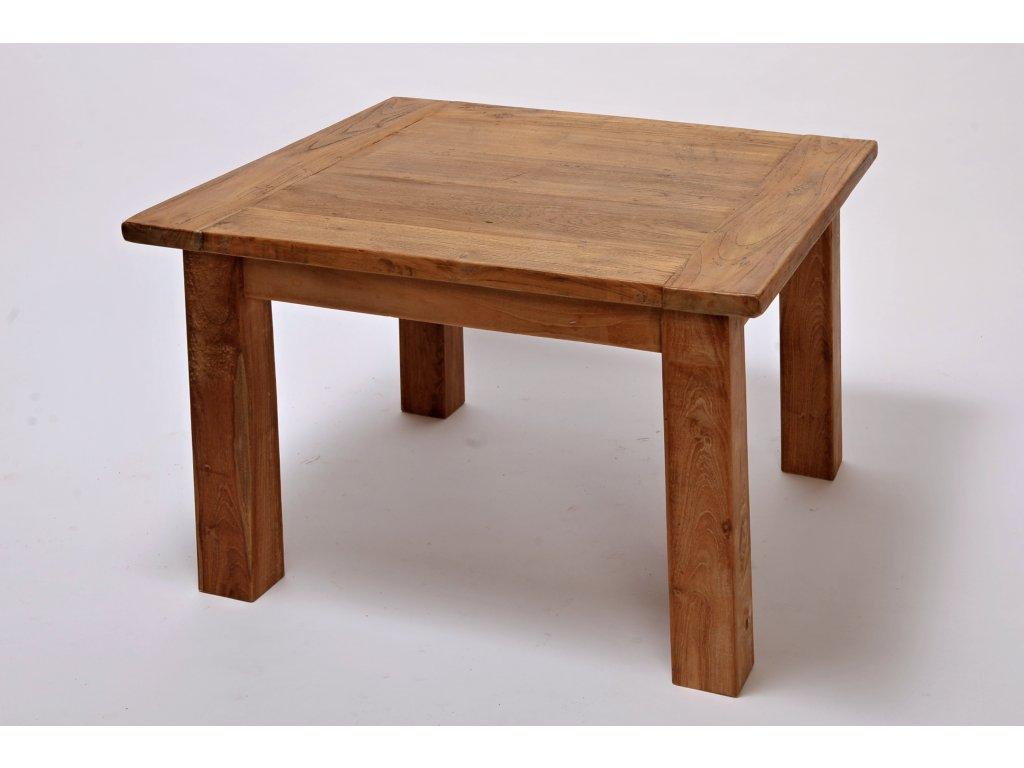 Teakový stůl 80x80 masiv Hitra