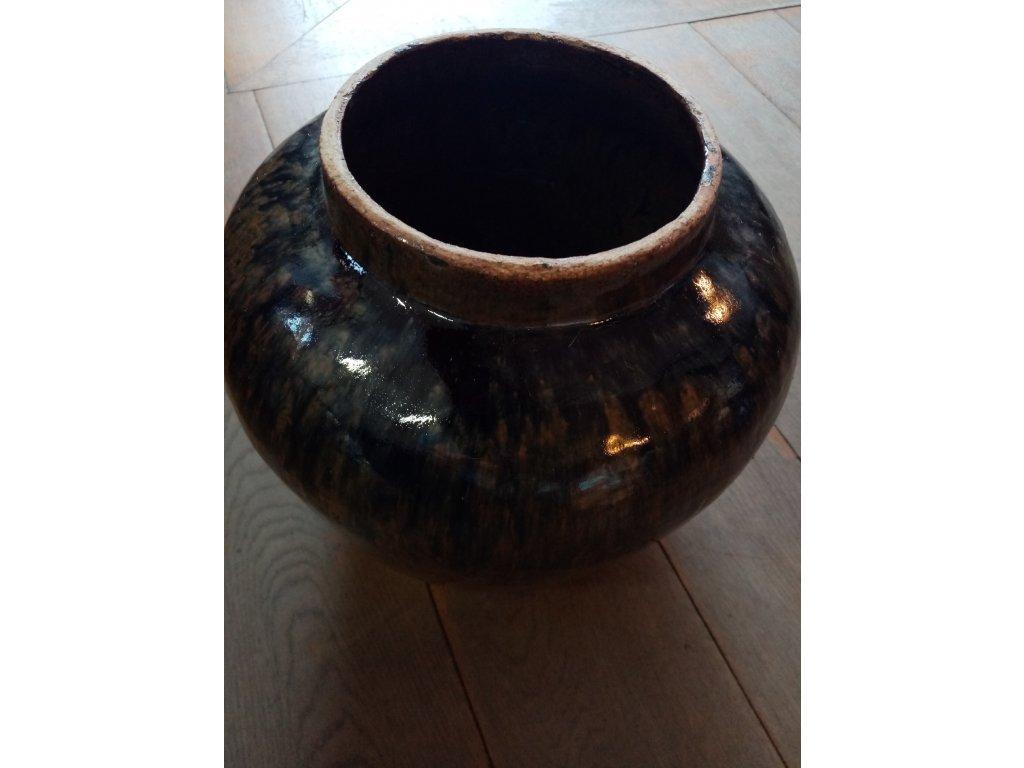 Váza / nádoba ČERNÁ