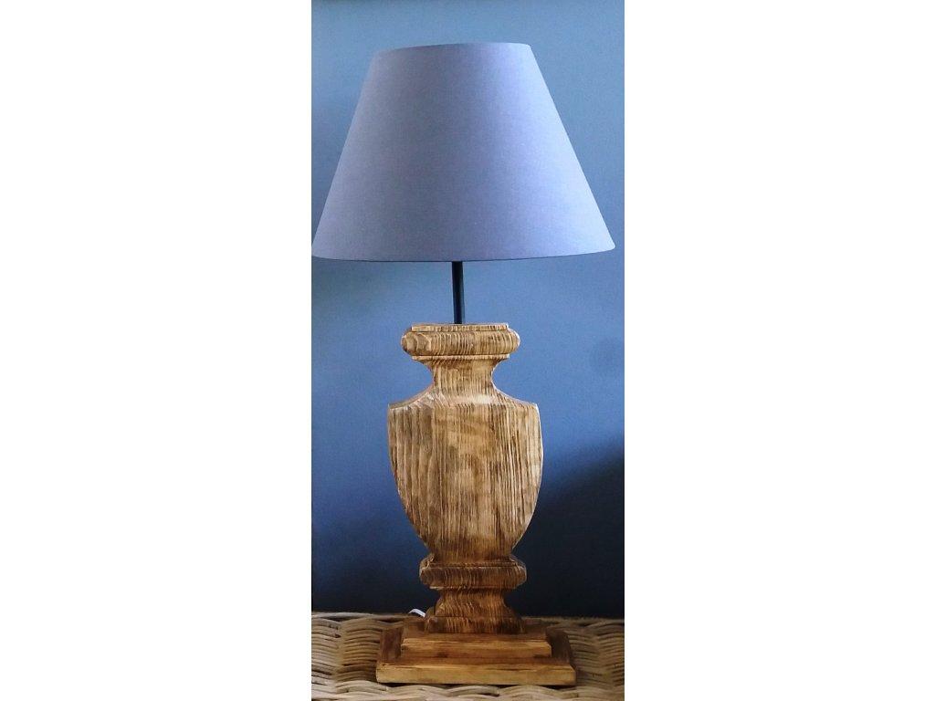 Dřevěná lampa POHÁR