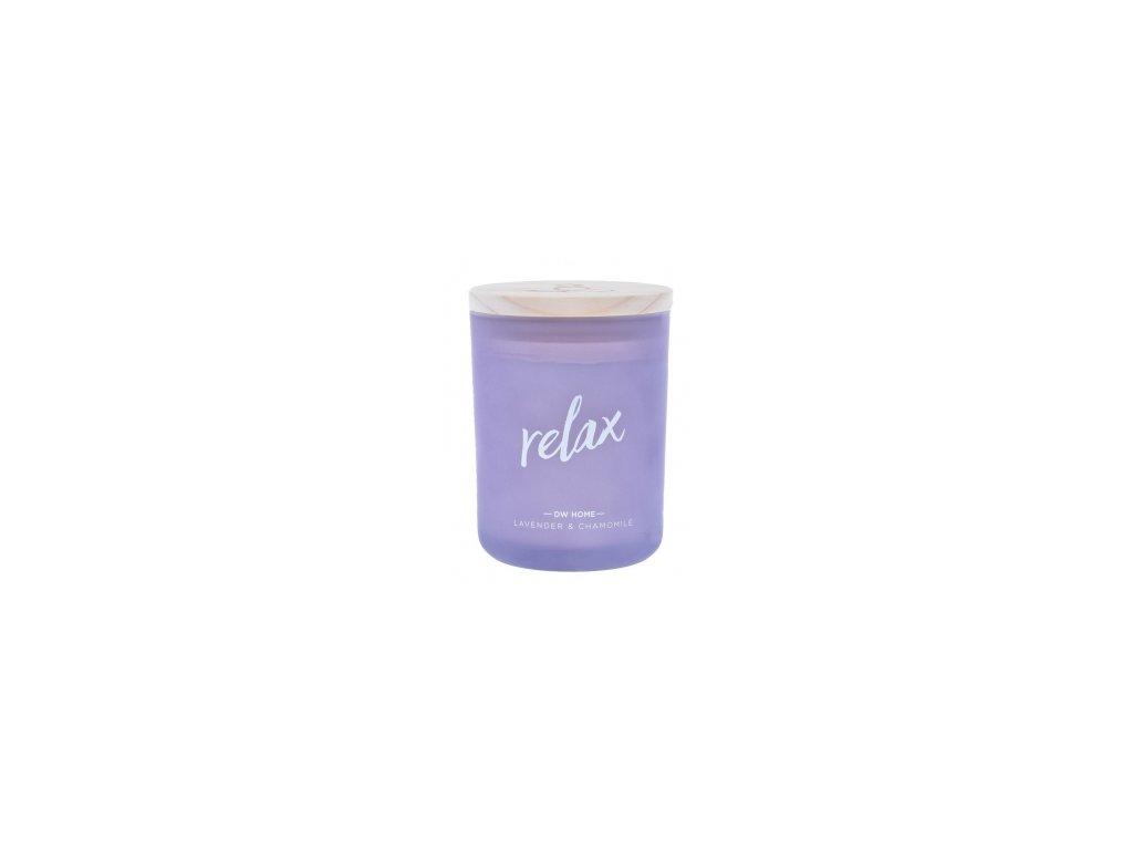 Svíčka vonná ve skle RELAX