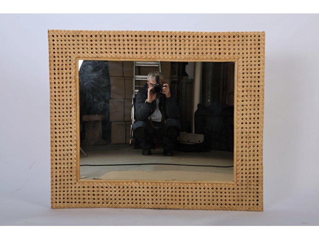 Ratanové zrcadlo LASIO 120x100cm (1)