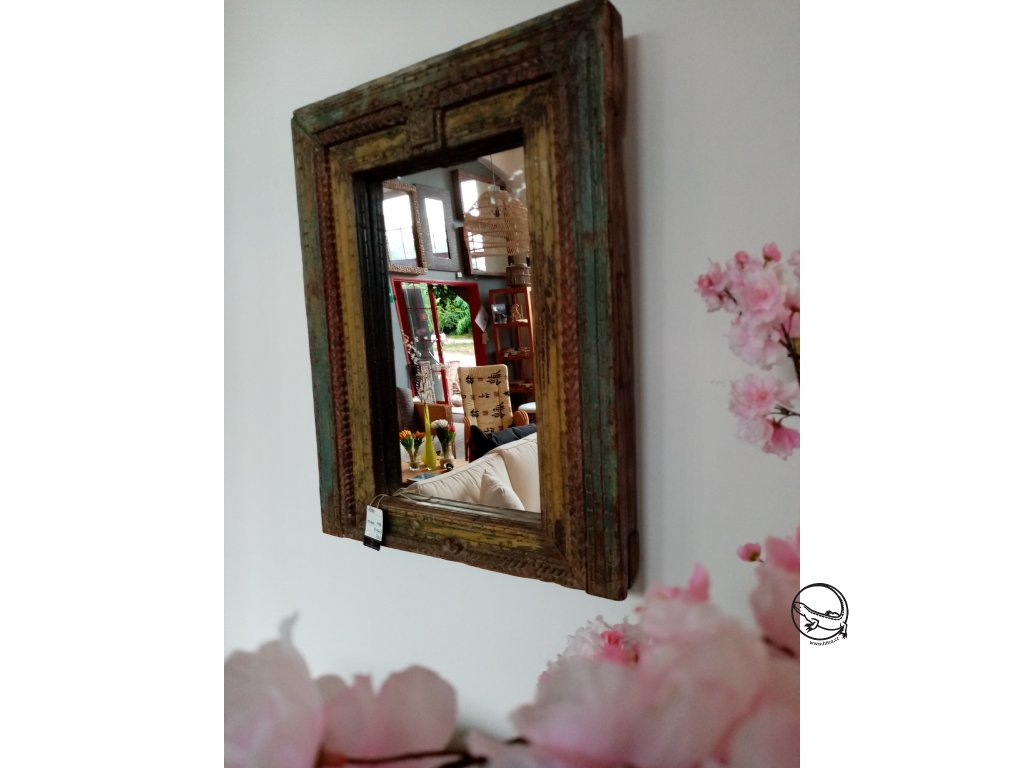 Zrcadlo ANTIK INDIE