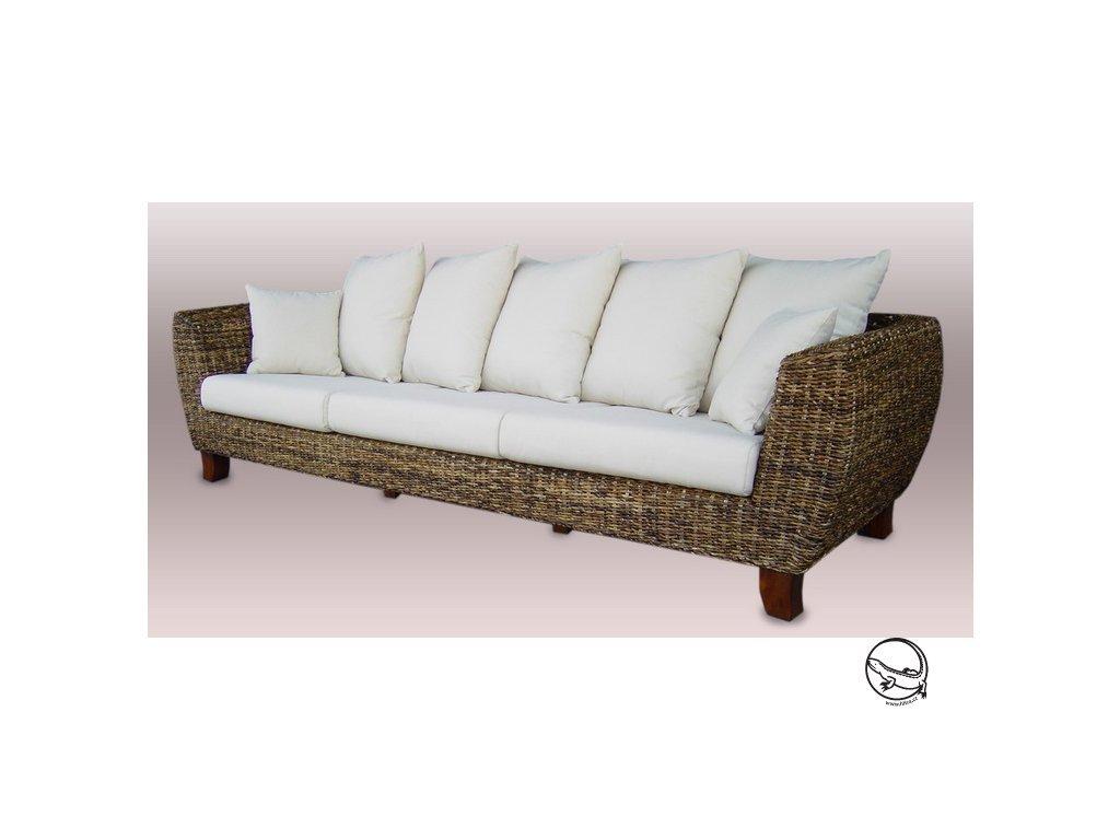 TONDANO pohovka XXL - banán OLD super sofa