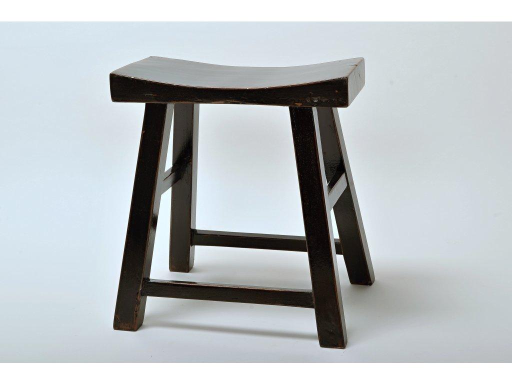 stolička černá