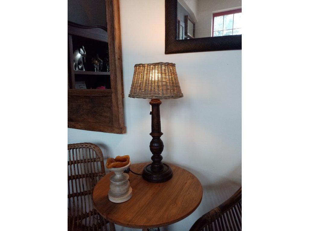 Dřevěná lampa BEEN malá